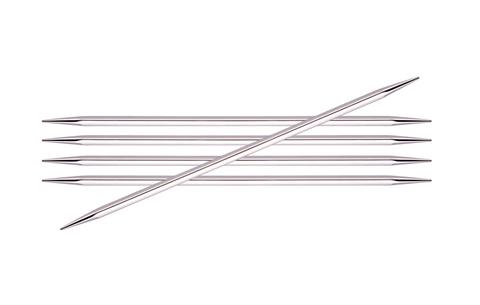 KnitPro Nova Cubics чулочные спицы 15 см