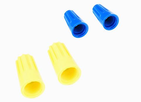 Соединительный изолирующий зажим СИЗ-2 4,5 мм2 синий (100 шт) TDM