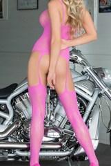 Ажурный комплект FLOWERET розовый