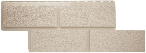 Фасадная панель Альта Профиль Неаполь Кремовый 1250х450 мм