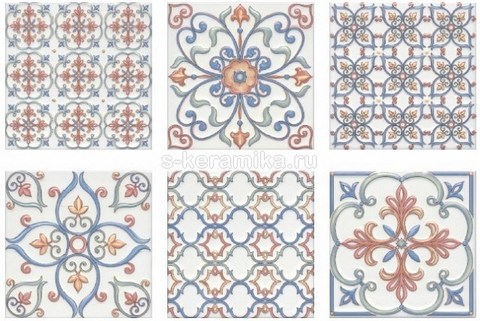 Плитка настенная KERAMA MARAZZI Суррей 200x200 5227