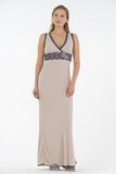 Роскошное длинное домашнее платье Valery
