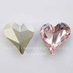 4809 Ювелирные стразы Сваровски Sweet Heart Rosaline (27х25 мм)