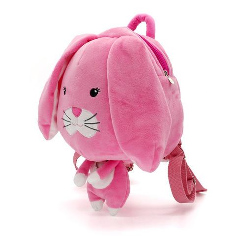 Рюкзак заяц розовый