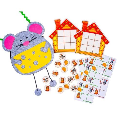 Логическая игра Умные мыши Smile Decor Ф202