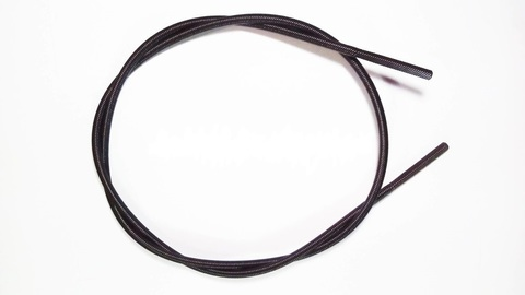 Вал гибкий для триммера, диаметр 6мм, хвостовик квадрат 5.1X5.1мм, длина 132см.