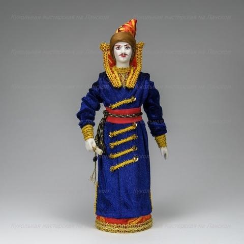 Гонец - кукла в русском костюме