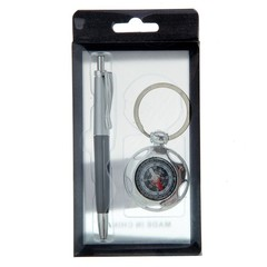 Набор подарочный 2в1 (ручка, компас)