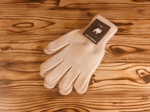 Перчатки из верблюжьей шерсти. Страна производитель Монголия. ( белый цвет) фото2