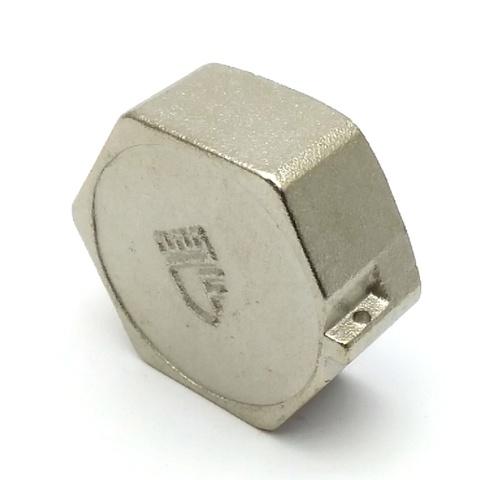 Заглушка латунная никелированная SD Forte 1