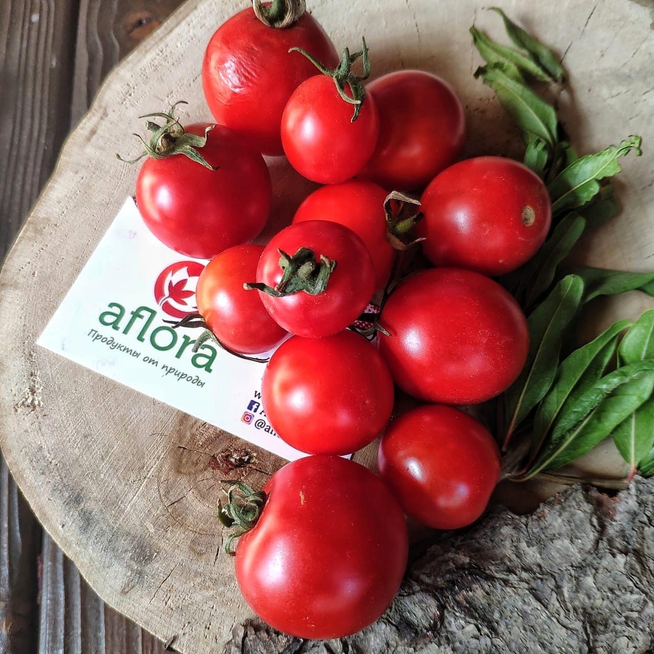 Фотография Помидоры Черри на ветке / 1 кг / РАСПРОДАЖА купить в магазине Афлора