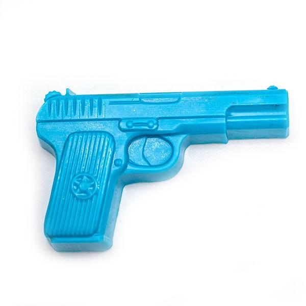 Пластиковая форма для мыла Пистолет