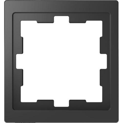 Рамка на 1 пост. Цвет Антрацит. Merten. D-Life System Design. MTN4010-6534