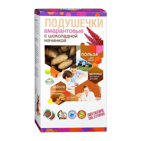Подушечки амарантовые с шоколадной начинкой, 250гр.  (Ди энд Ди)
