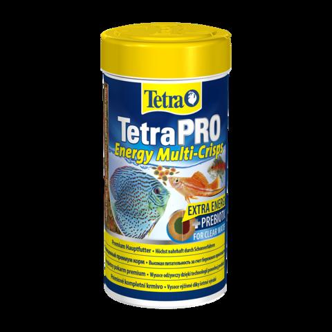 TetraPro Energy Сухой корм для декоративных рыб для придания дополнительной энергии чипсы