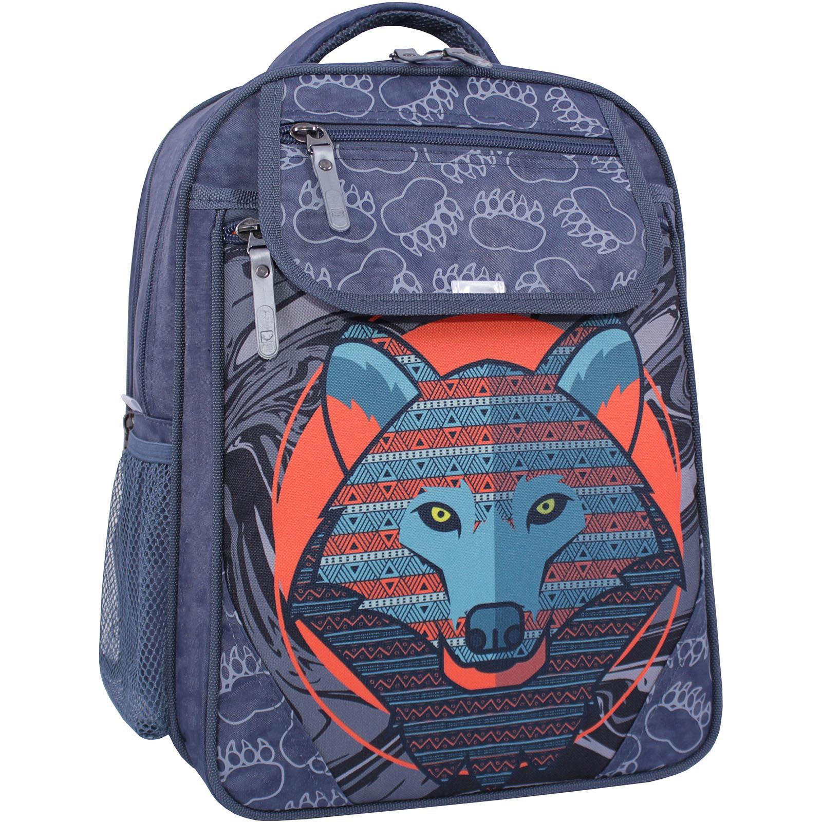 Школьные рюкзаки Рюкзак школьный Bagland Отличник 20 л. 321 серый 509 (0058070) IMG_1269_суб.509_.JPG