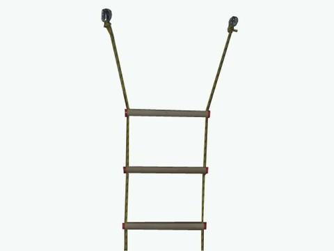 Лестница верёвочная 7 ступеней