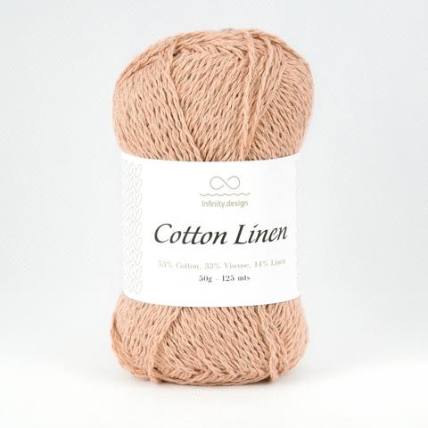 Пряжа Infinity Cotton Linen 3532 пудра