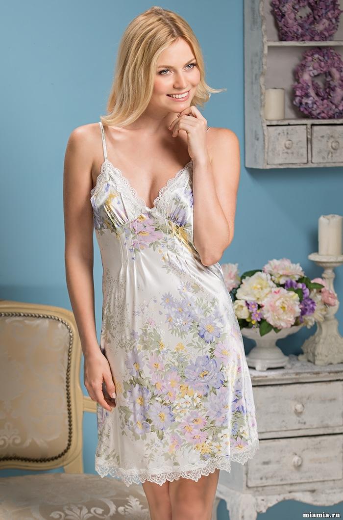 шелк натуральный Сорочка женская шелковая MIA-Amore  Lilianna Лилианна  5994 5994.jpg