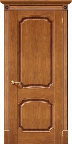 Дверь Халес Мадрид (медовый дуб, глухая, массив хвойных пород)