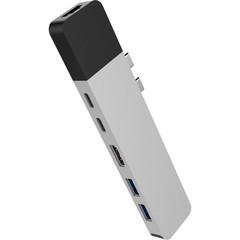 Хаб Hyper HyperDrive NET 6-in-2 Hub для USB-C MacBook серебряный