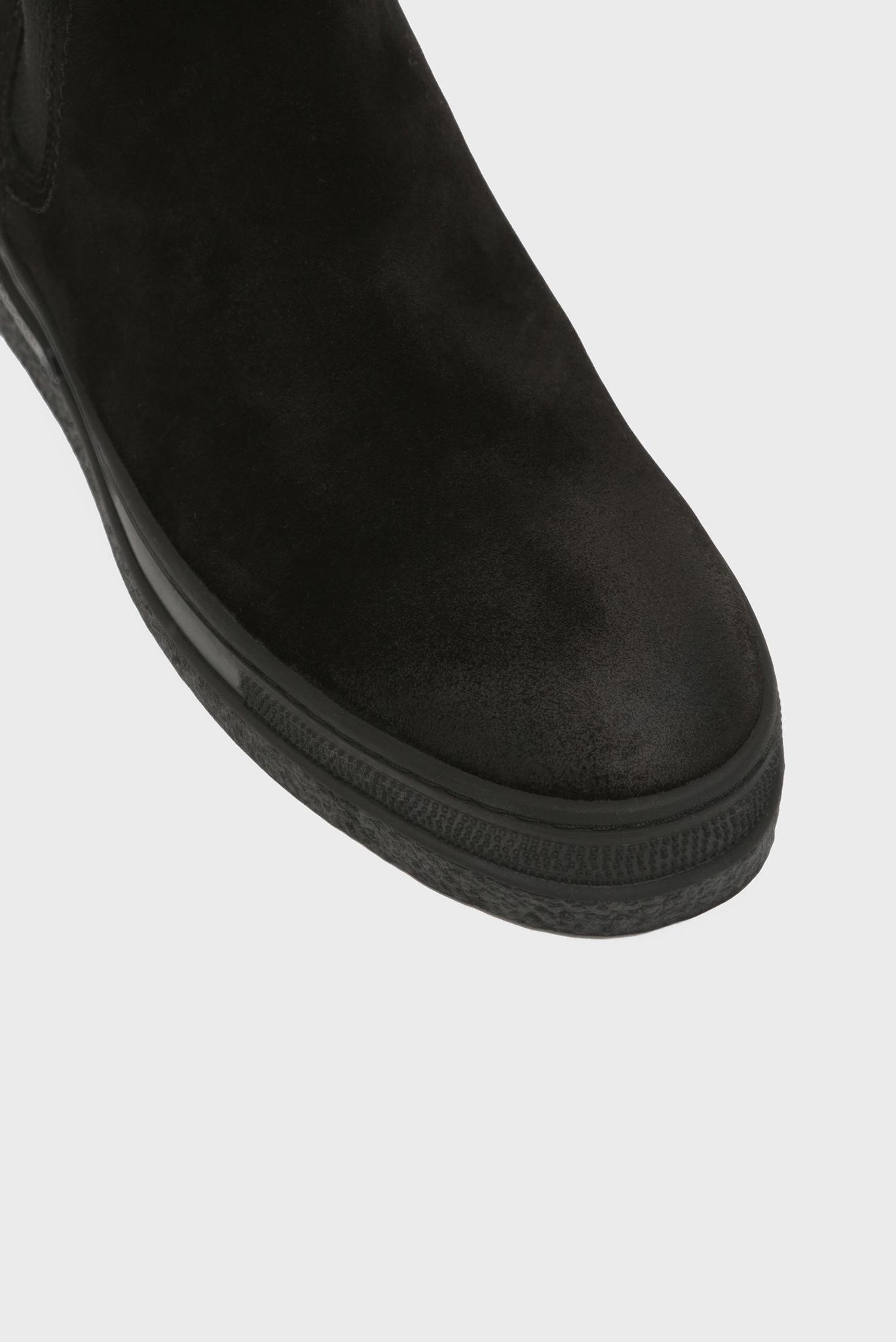 Женские черные замшевые челси MARIA Gant