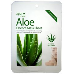La Miso Aloe Essence Mask Sheet - Маска с экстрактом алоэ