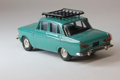 Moskvich-408 with roof rack green Agat Mossar Tantal 1:43