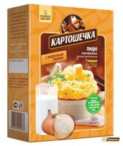 Картофельное пюре с жареным луком (7 порций) Картошечка, 180г