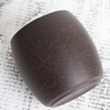 Пиала из черной глины 90 мл #H84