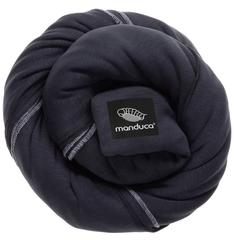 Трикотажный слинг-шарф manduca sling black (черный)