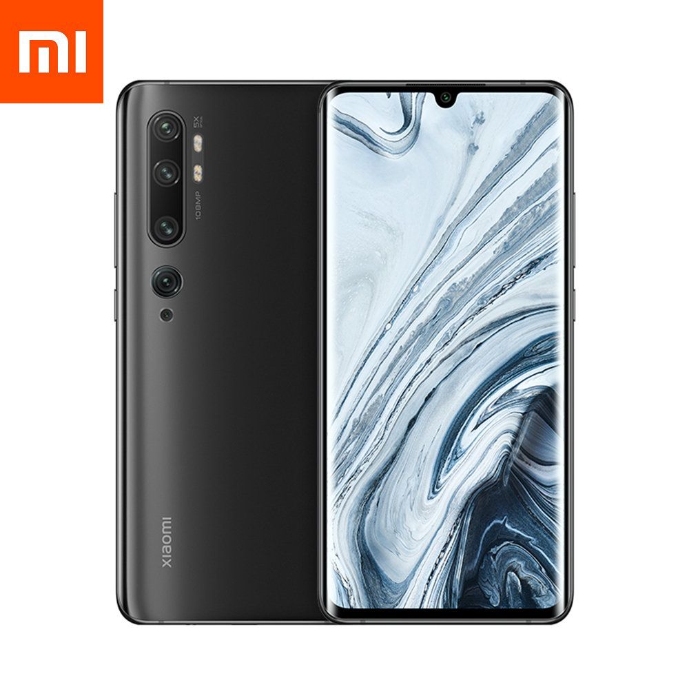 Смартфон Xiaomi Mi Note 10 6/128GB Midnight Black EU (Global Version)