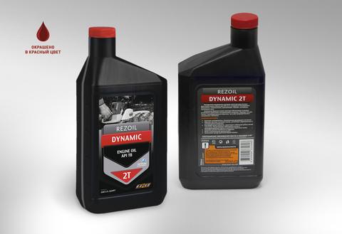 Масло для 2-х тактных бензиновых двигателей Rezoil DYNAMIC 2T