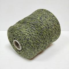 Кашемир 100%, Серый с зеленым, ~300 м в 100 г