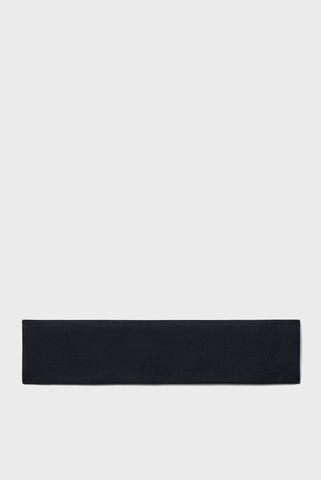 Женская черная повязка UA Jacquard Perfect-BLK Under Armour