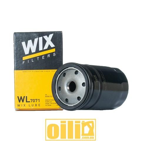 Фильтр масляный WIX WL7071 (BMW, Audi,Volkswagen, Seat, Skoda)