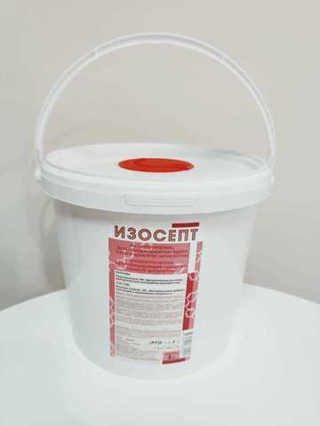 Диспенсерная система Изосепт с салфетками 3.8л, 250 шт