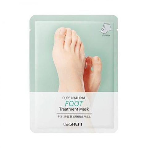 Маска для ног THE SEAM PURE NATURAL Foot Treatment Mask 8гр 2шт
