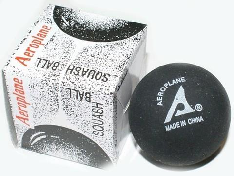Мячик для игры в сквош. Жёлтая точка - слабый отскок (медленный) :(ABS-Н):
