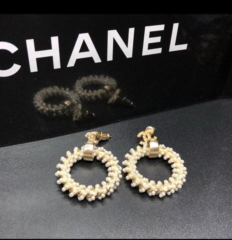 Серьги Chanel Lux