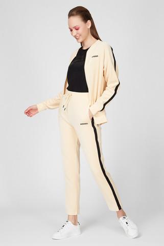 Женские бежевые спортивные брюки UFLB-PANSHIN Diesel