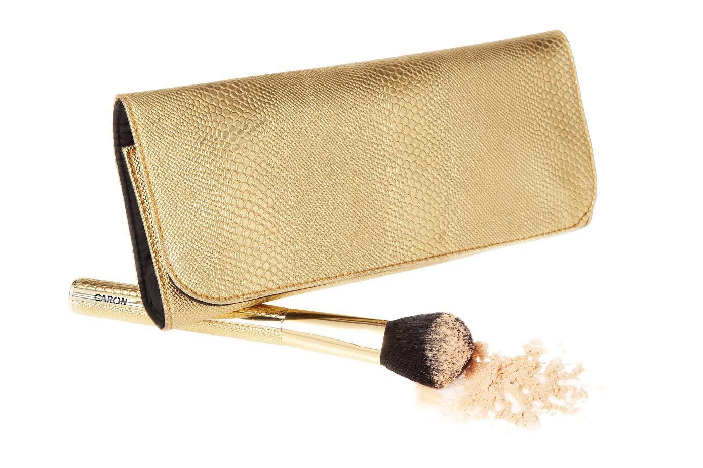 Набор из 4-х кисточек для макияжа GOLD