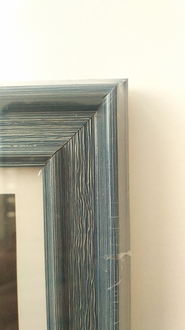 ФОТОРАМКА  30х40, 2818-8, синяя пласти