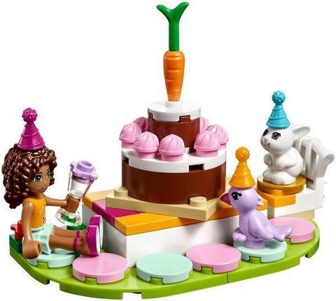 LEGO Friends: День рождения 41110 — Birthday Party — Лего Френдз Друзья Подружки