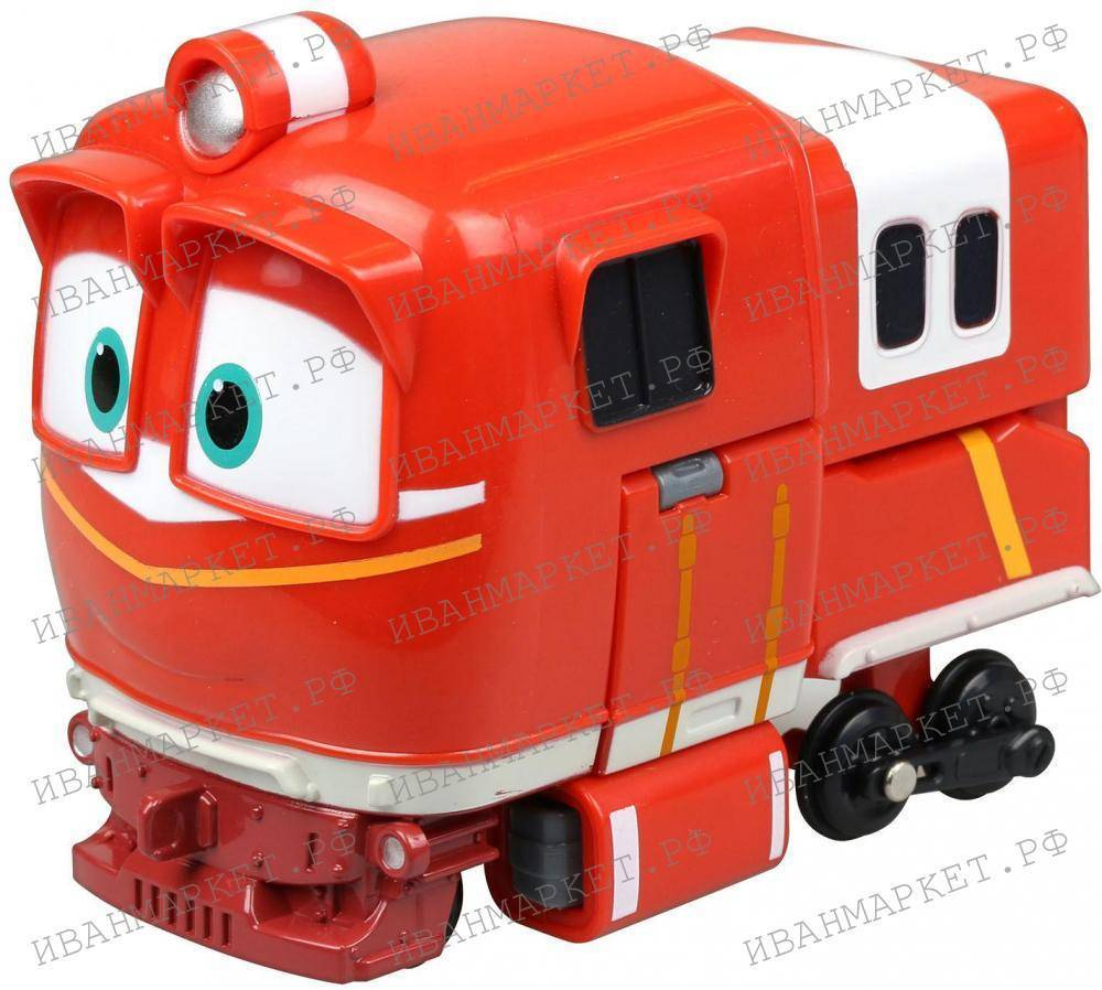 """Альф трансформер+Альф с вагончиком """"Роботы Поезда ..."""