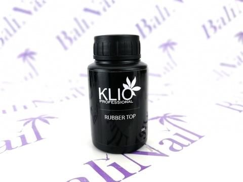 KLIO Топ каучук для гель-лака, 30 G  (с узким горлышком)