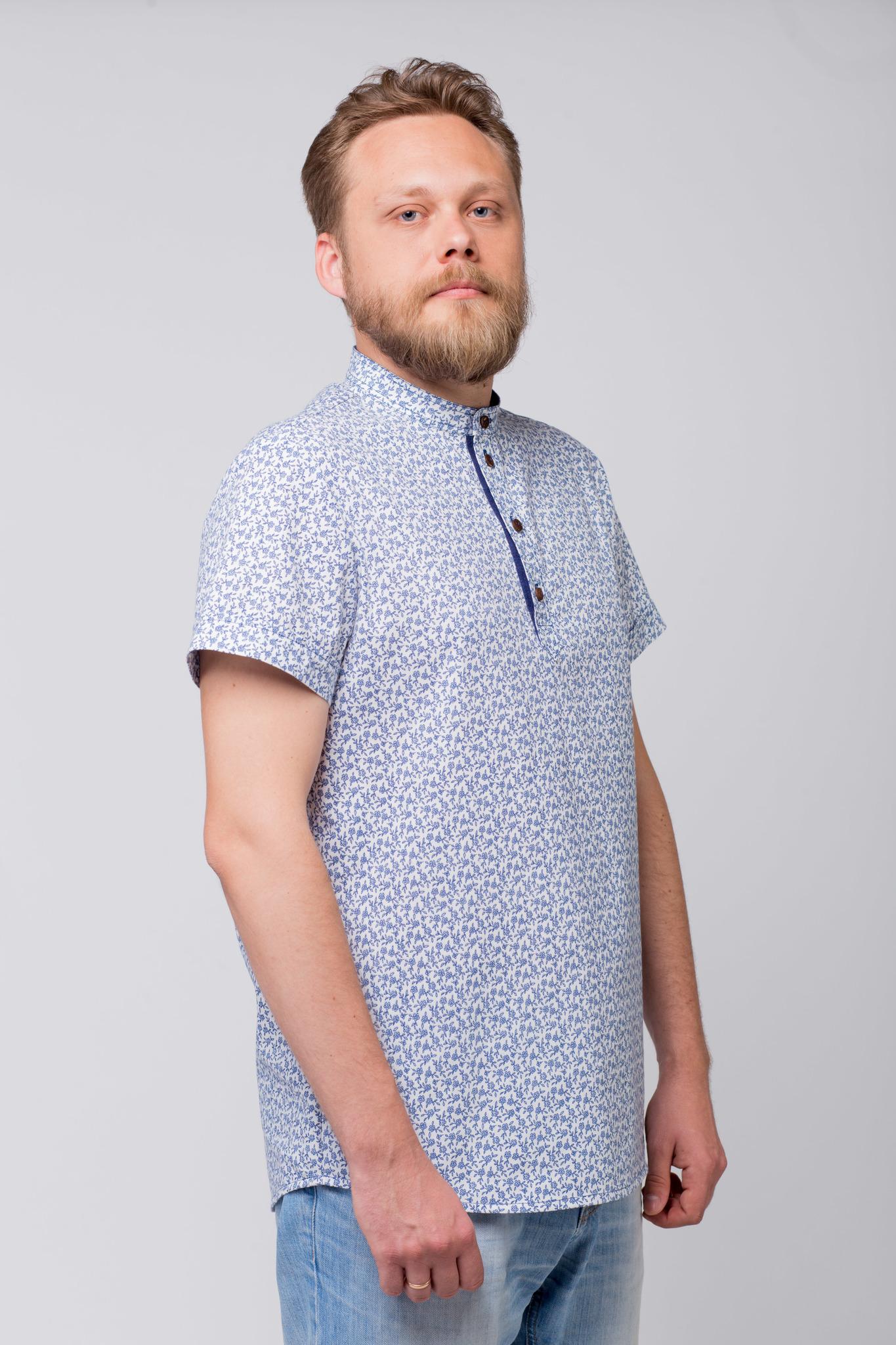 Рубашка льняная Енисейская купить