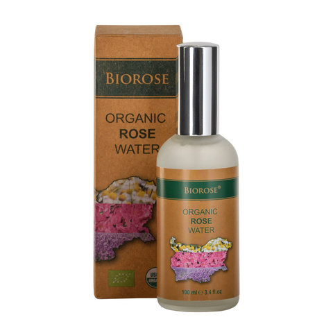 Органическая розовая вода 100 мл