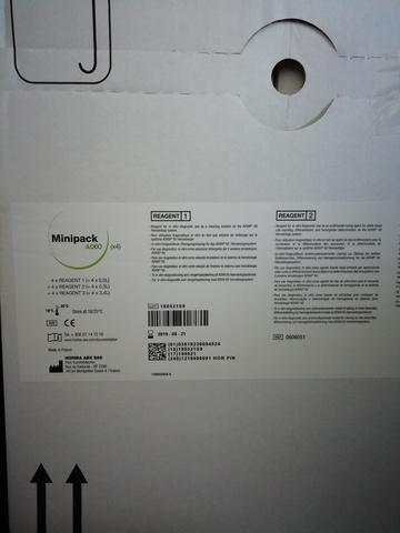Набор реагентов Minipack AD60 к системе гематологической аналитической