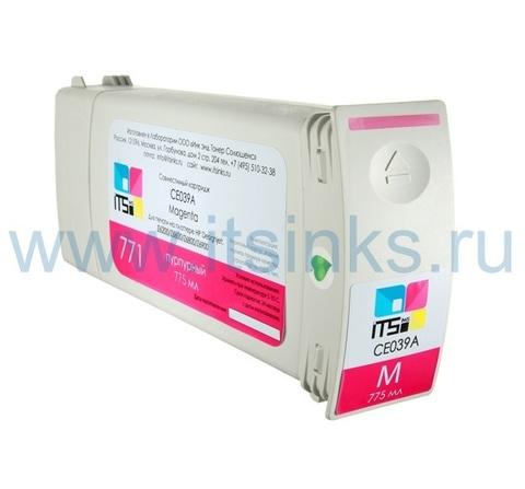 Картридж для HP 773 (C1Q39A) Magenta 775 мл